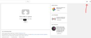 Sube un video a tu perfil de youtube subitulos