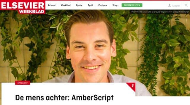Elsevier – Amberscript is very user friendly