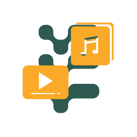 Audio and Video file types icon