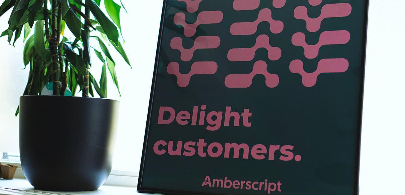 Amberscript's new look