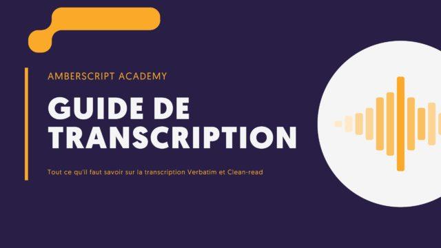 Guide de Transcription