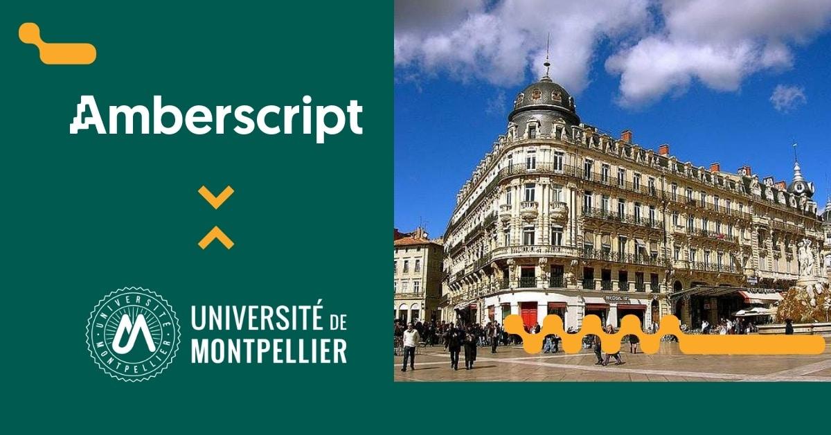 Transcription Verbatim pour un projet de recherche de l'Université de Montpellier