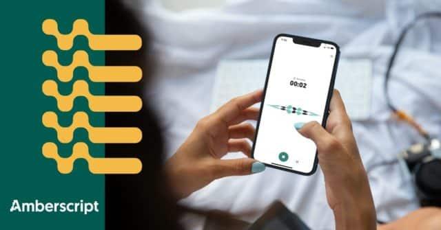 Verwandle dein Smartphone in ein Diktiergerät
